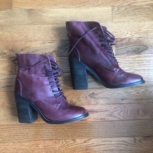 Shoemint Oxblood Booties